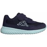 Scarpe Unisex bambino Sneakers basse Kappa Cracker II BC K Celeste, Blu marino