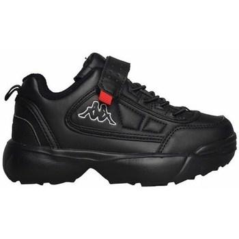 Scarpe Unisex bambino Sneakers basse Kappa Rave NC K Nero