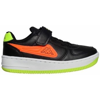 Scarpe Unisex bambino Sneakers basse Kappa Bash PC K Nero, Verde, Arancione