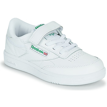 Scarpe Unisex bambino Sneakers basse Reebok Classic CLUB C 1V Bianco