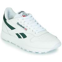 Scarpe Sneakers basse Reebok Classic CL LTHR Bianco / Verde