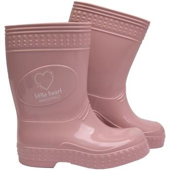 Scarpe Bambina Stivali da pioggia Kaloszepoprosze  ROSA