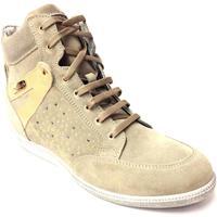 Scarpe Donna Sneakers alte Byblos Blu ATRMPN-22726 Beige