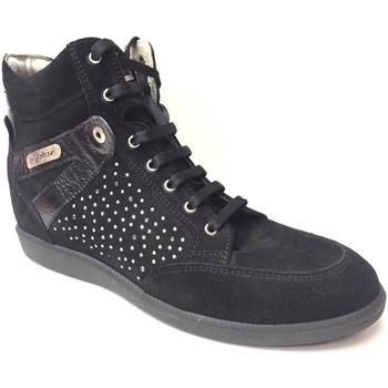 Scarpe Donna Sneakers alte Byblos Blu ATRMPN-22727 Nero