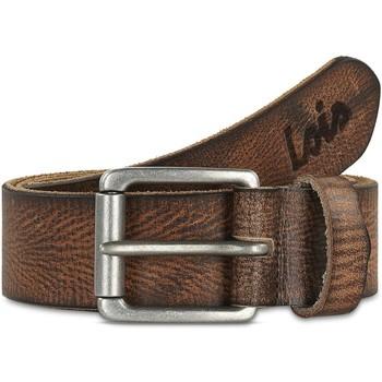 Accessori Uomo Cinture Lois Crack leather Marrone