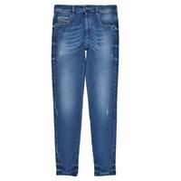 Abbigliamento Bambina Jeans skynny Diesel D-SLANDY HIGH Blu