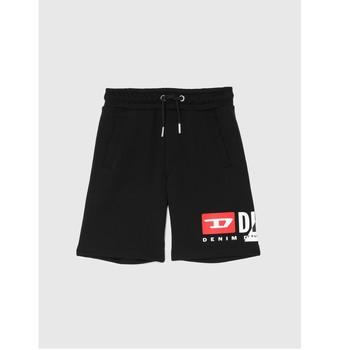 Abbigliamento Bambino Shorts / Bermuda Diesel PSHORTCUTY Nero
