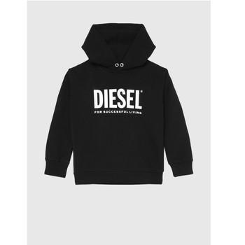 Abbigliamento Unisex bambino Felpe Diesel SDIVISION LOGO Nero