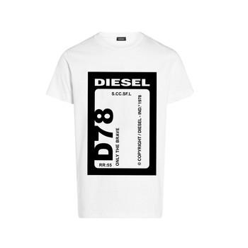Abbigliamento Bambino T-shirt maniche corte Diesel TFULL78 Bianco