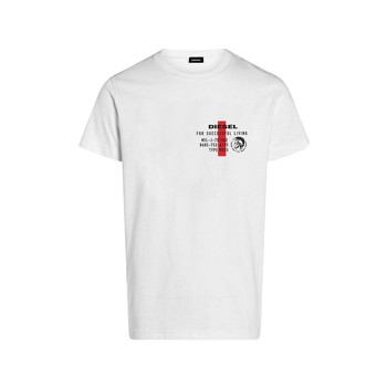 Abbigliamento Bambino T-shirt maniche corte Diesel TDIEGOS Bianco
