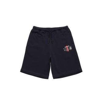 Abbigliamento Bambino Shorts / Bermuda Diesel PEDDY Blu