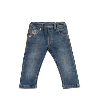 Abbigliamento Bambino Jeans slim Diesel KROOLEY Blu
