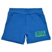 Abbigliamento Bambino Shorts / Bermuda Diesel POSTYB Blu