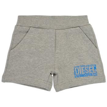 Abbigliamento Bambino Shorts / Bermuda Diesel POSTYB Grigio