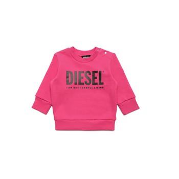 Abbigliamento Bambina Felpe Diesel SCREWDIVISION LOGOB Rosa