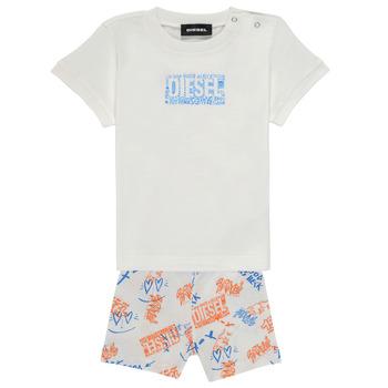 Abbigliamento Bambino Completo Diesel SILLIN Multicolore