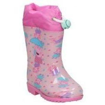 Scarpe Bambina Stivali da pioggia Cerda BOTAS DE AGUA  4449 PEPA PIG  NIÑA ROSA Rose