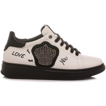 Scarpe Bambina Sneakers basse Chiara Luciani Chiara Luciani Sneakers Bambina Rosalinda Bianco bianco, nero