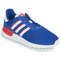 Scarpe Unisex bambino Sneakers basse adidas Originals LA TRAINER LITE J Blu / Bianco