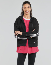 Abbigliamento Donna Felpe adidas Performance W Knit V Hoodie Nero