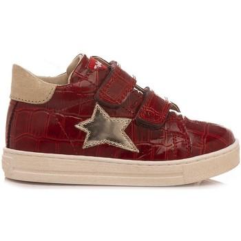 Scarpe Bambina Sneakers alte Falcotto Sneakers Bambina Sasha Rosso rosso