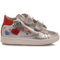 Scarpe Bambina Sneakers basse Falcotto Sneakers Bambina Janot Argento argento