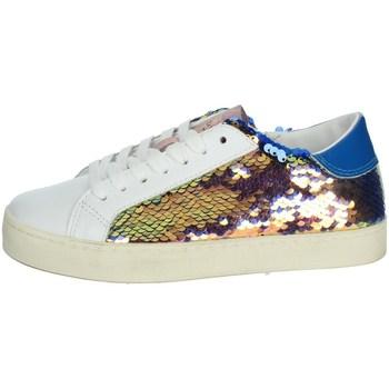 Scarpe Bambina Sneakers basse Date J301 BIANCO