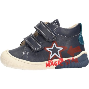 Scarpe Bambino Sneakers alte Naturino - Polacchino blu CICO VL-2C05 BLU