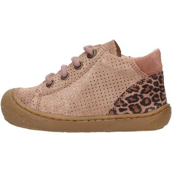 Scarpe Bambino Sneakers alte Naturino - Polacchino rosa  antico ROMY-1M60 ROSA