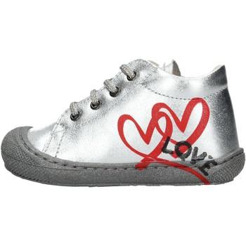 Scarpe Bambino Sneakers alte Naturino - Polacchino argento KOLBY-0Q04 ARGENTO