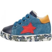Scarpe Bambino Sneakers basse Falcotto - Polacchino blu SASHA-2C05 BLU