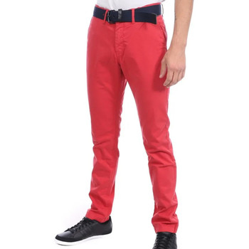 Abbigliamento Uomo Chino Kaporal ROULAE20M72 Rosso