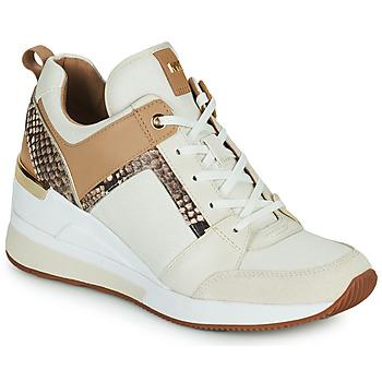 Scarpe Donna Sneakers basse MICHAEL Michael Kors GEORGIE TRAINER Beige