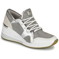 Scarpe Donna Sneakers basse MICHAEL Michael Kors LIV TRAINER Argento