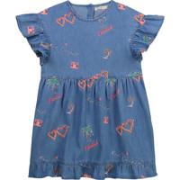 Abbigliamento Bambina Abiti corti Billieblush / Billybandit U12640-Z10 Blu