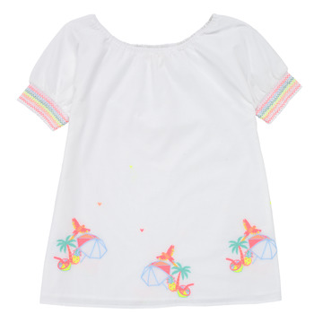 Abbigliamento Bambina Abiti corti Billieblush / Billybandit U12657-10B Bianco