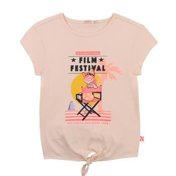 Abbigliamento Bambina T-shirt maniche corte Billieblush / Billybandit U15852-44F Rosa