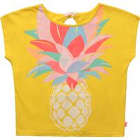 Abbigliamento Bambina T-shirt maniche corte Billieblush / Billybandit U15873-548 Giallo