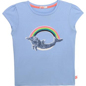 Abbigliamento Bambina T-shirt maniche corte Billieblush / Billybandit U15875-798 Blu
