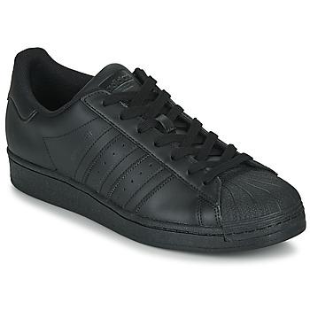 Scarpe Sneakers basse adidas Originals SUPERSTAR Nero