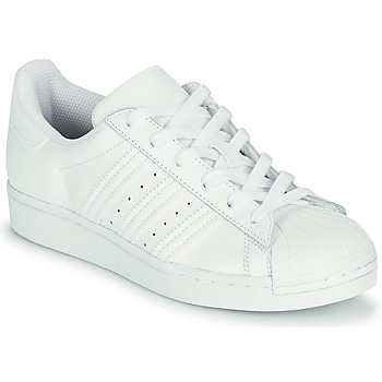 Scarpe Unisex bambino Sneakers basse adidas Originals SUPERSTAR J Bianco