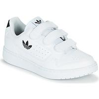Scarpe Unisex bambino Sneakers basse adidas Originals NY 92  CF C Bianco / Nero