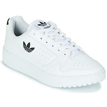 Scarpe Unisex bambino Sneakers basse adidas Originals NY 92 J Bianco / Nero
