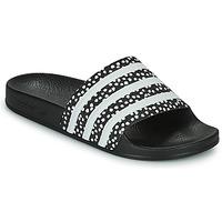 Scarpe Donna ciabatte adidas Originals ADILETTE W Nero / Bianco
