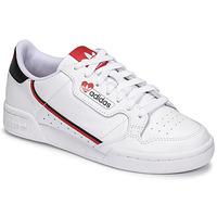 Scarpe Donna Sneakers basse adidas Originals CONTINENTAL 80 Bianco / Rosso