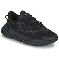 Scarpe Unisex bambino Sneakers basse adidas Originals OZWEEGO J Nero