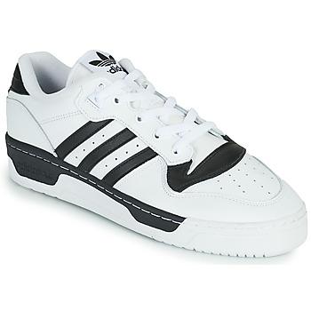 Scarpe Sneakers basse adidas Originals RIVALRY LOW Bianco / Nero