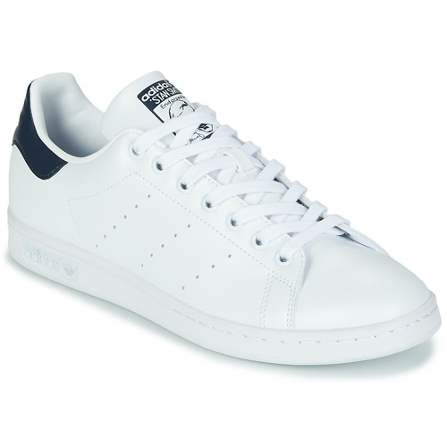 Scarpe Sneakers basse adidas Originals STAN SMITH SUSTAINABLE Bianco / Marine