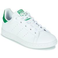 Scarpe Unisex bambino Sneakers basse adidas Originals STAN SMITH C SUSTAINABLE Bianco / Verde