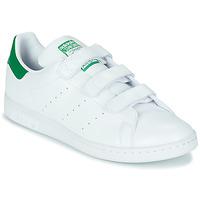 Scarpe Sneakers basse adidas Originals STAN SMITH CF SUSTAINABLE Bianco / Verde